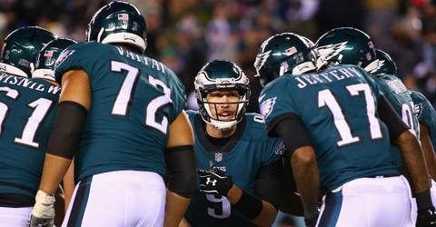 Doug Pederson: QBs in Championship round show it's not about one guy