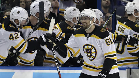Rick Nash Had two goals in the first game of the Stanley Cup Playoffs
