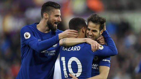Chelsea hold on to beat Swansea City