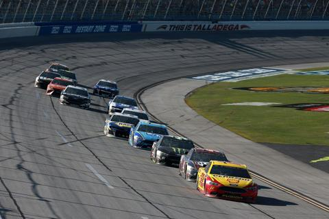 Logano guided to Talladega win by Dale Jr.'s former spotter