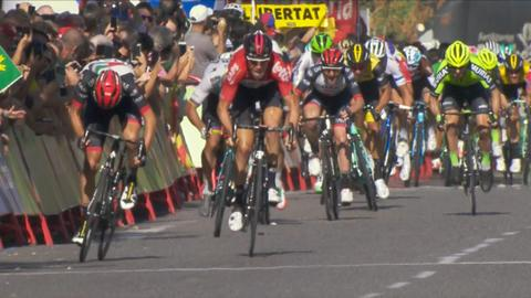 Finish to Stage 18 of 2018 Vuelta a Espana 9cfc1a677