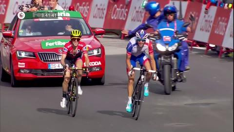 Finish to Stage 19 of 2018 Vuelta a Espana 796fec661