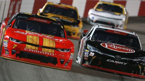 NASCAR America Justin Allgaier And Christopher Bell Are Evenly Matched
