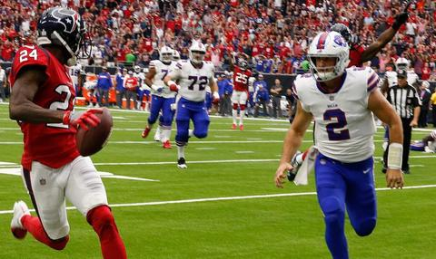 All options are on the table for Bills at quarterback