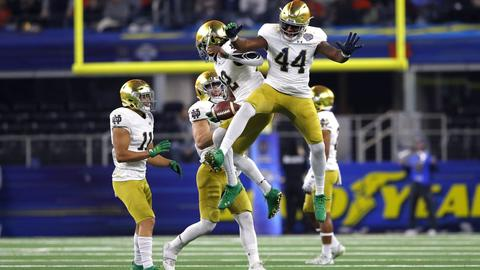 Notre Dame s defensive depth chart not among Clark Lea s concerns cff3517c86627