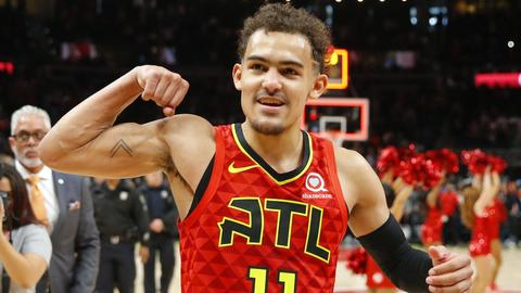 Three Things to Know  Trae Young lucky 7ae2b87a9