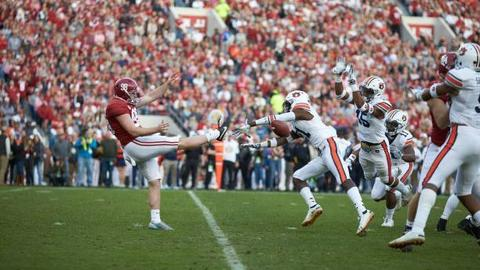 874074ccdc Alabama s starting punter for last half of 2018 to transfer