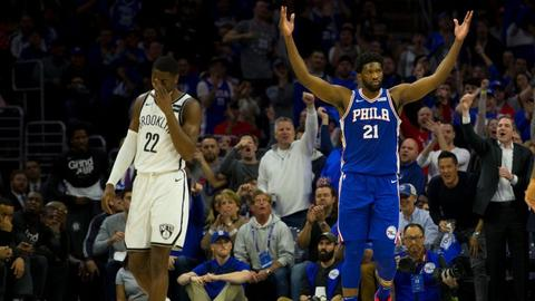 f1e32df19129 Caris LeVert on Joel Embiid laughing about flagrant foul   We don t really  like that. We thought that was kind of disrespectful