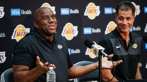 934301475e82 Magic Johnson just explained he didn t understand his Lakers job