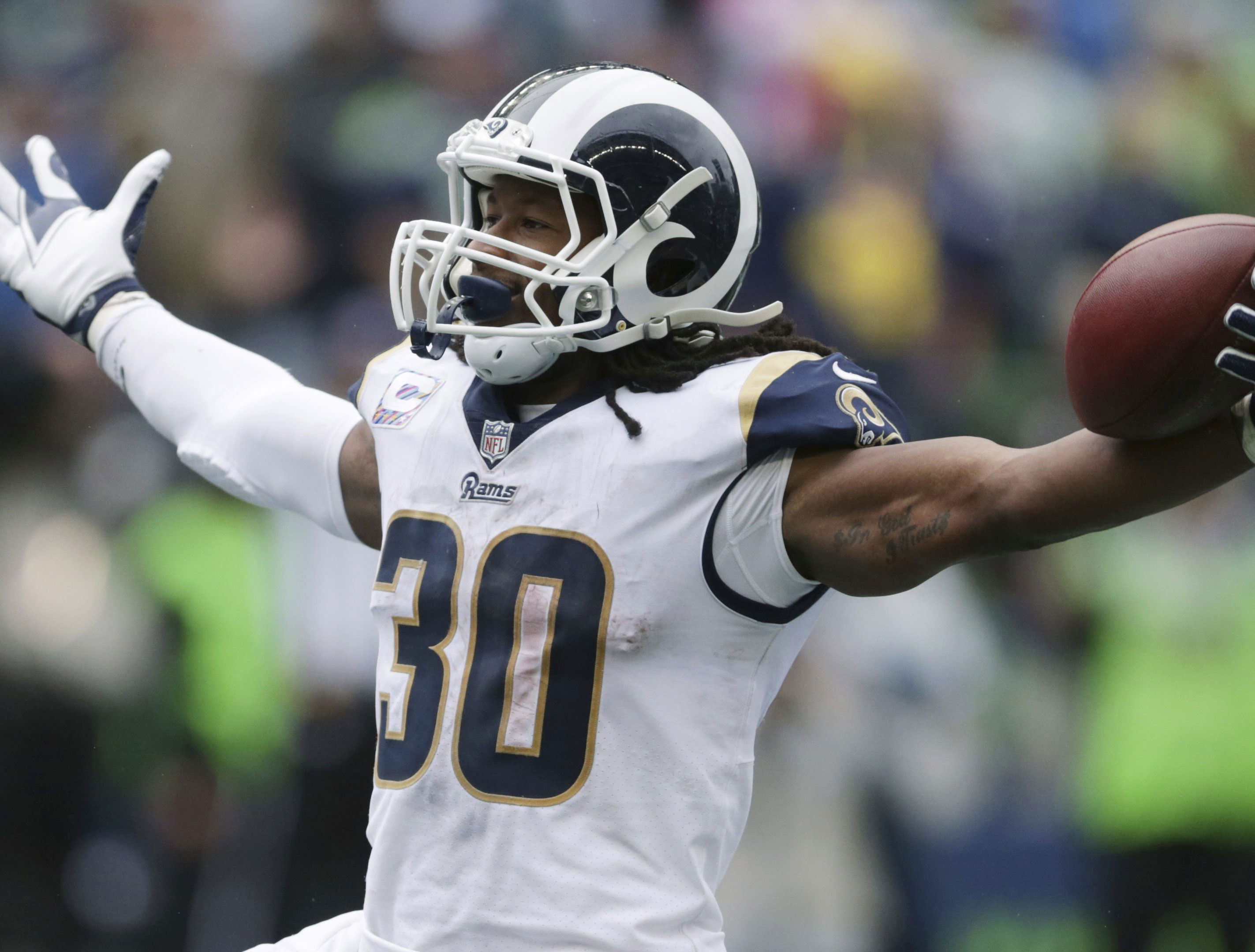 DFS Analysis: Gurley, Ebron
