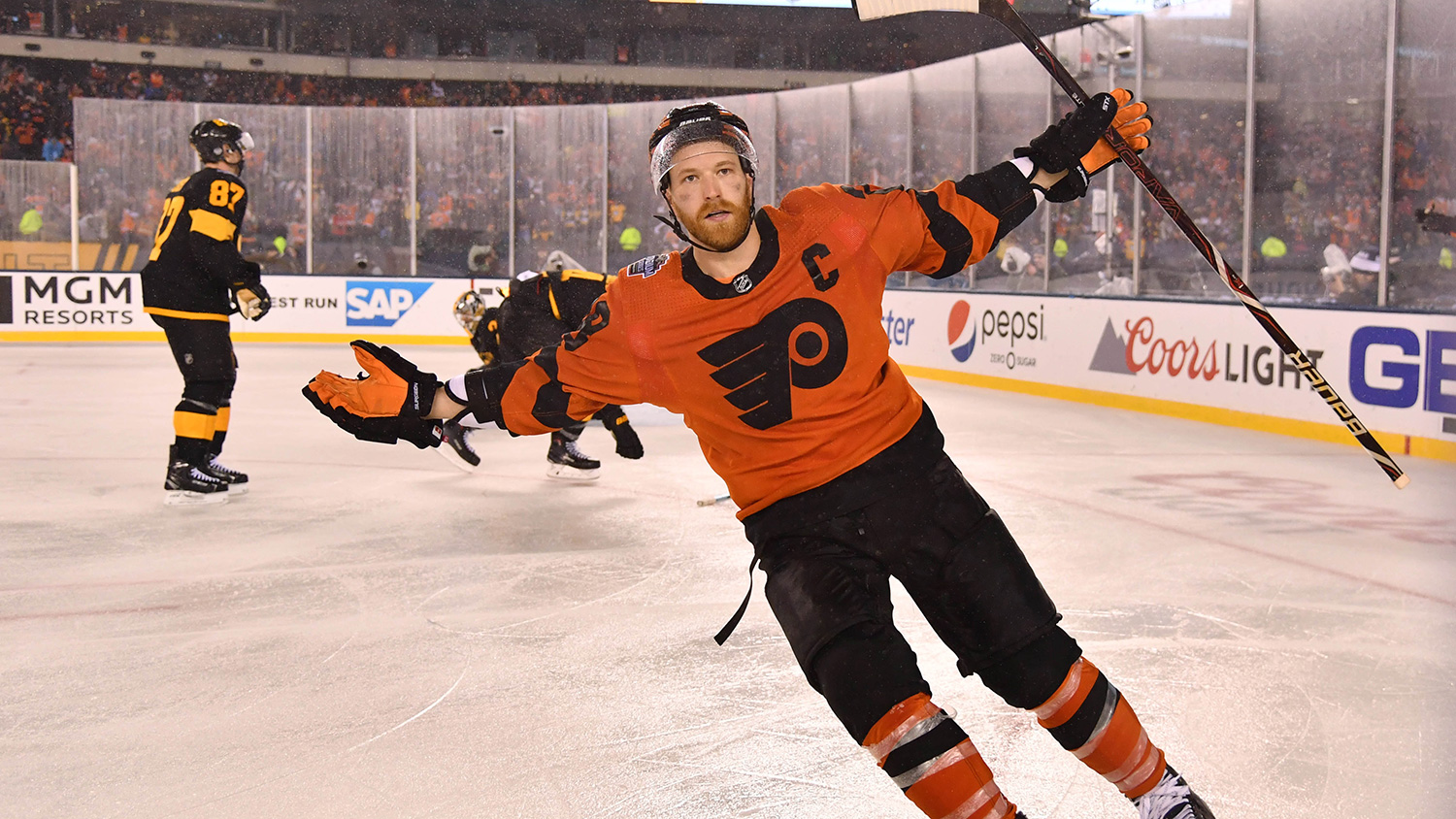 Top 5 quotes from Flyers-Penguins 2019 Stadium Series | RSN