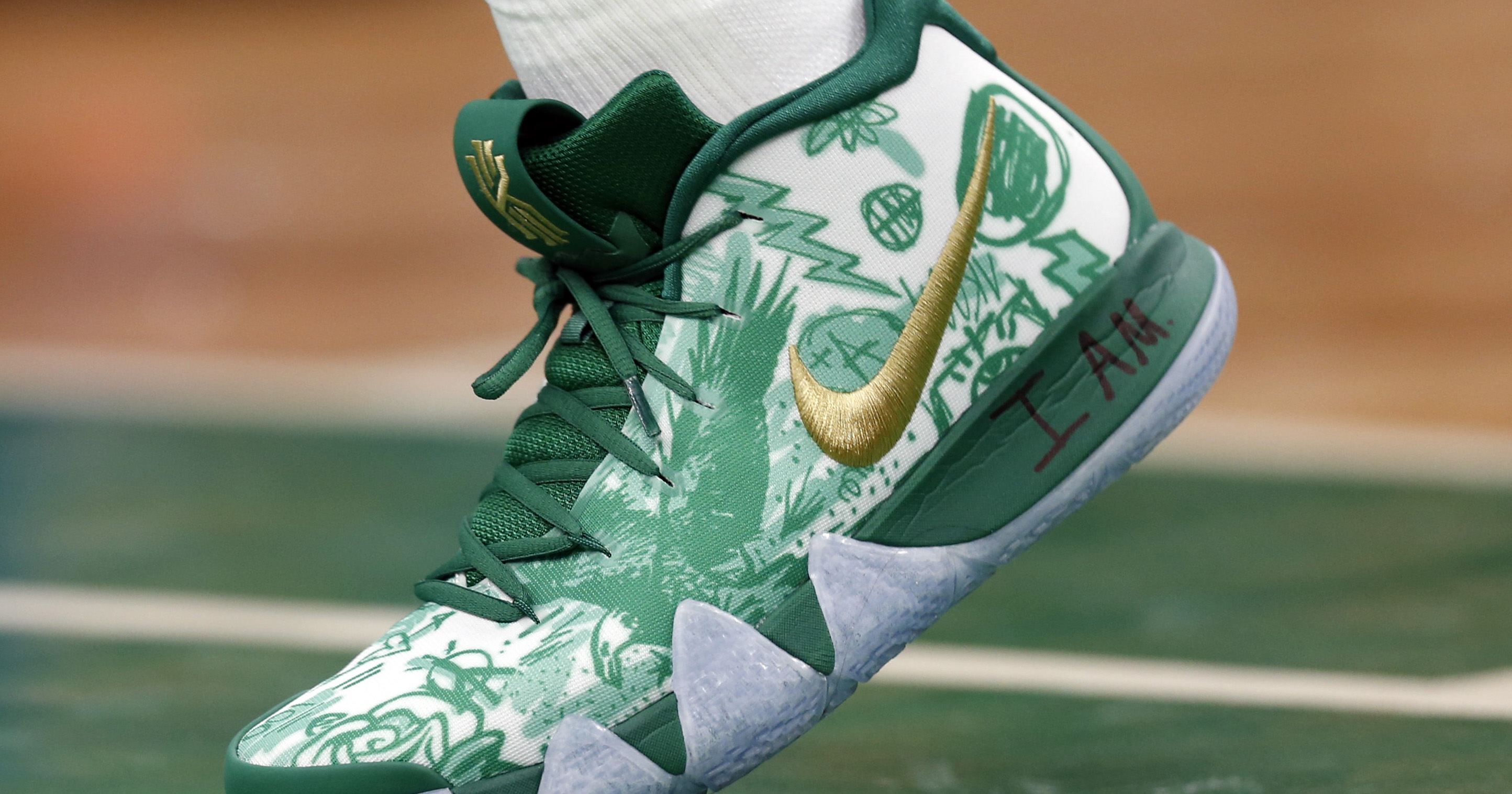 Kyrie Irving's game-by-game sneaker