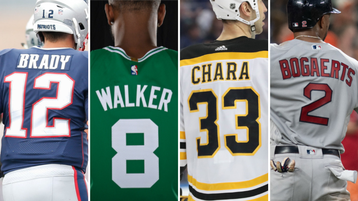 Dressed for Success: Safest jerseys to own in Boston sports | RSN