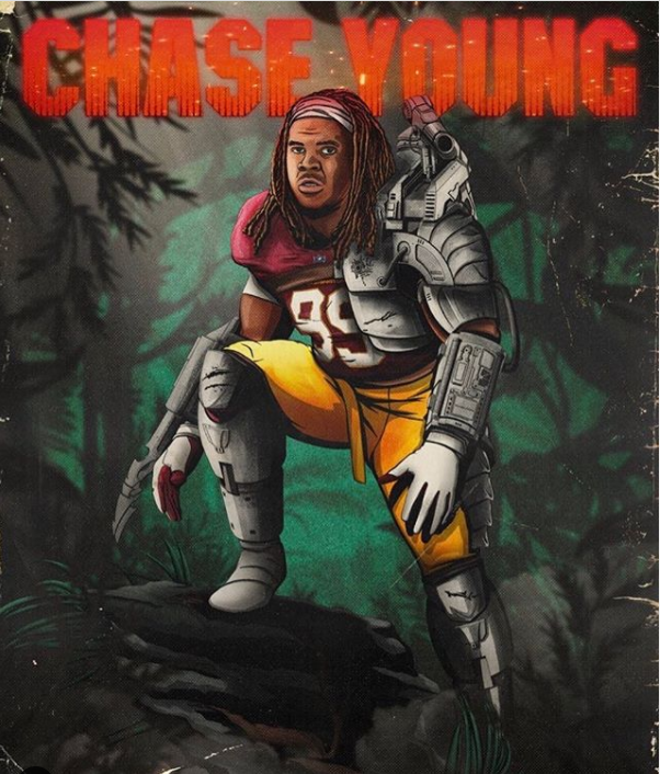 Washington Football Team Releases Player Themed Posters Leading Into Week 1 Rsn