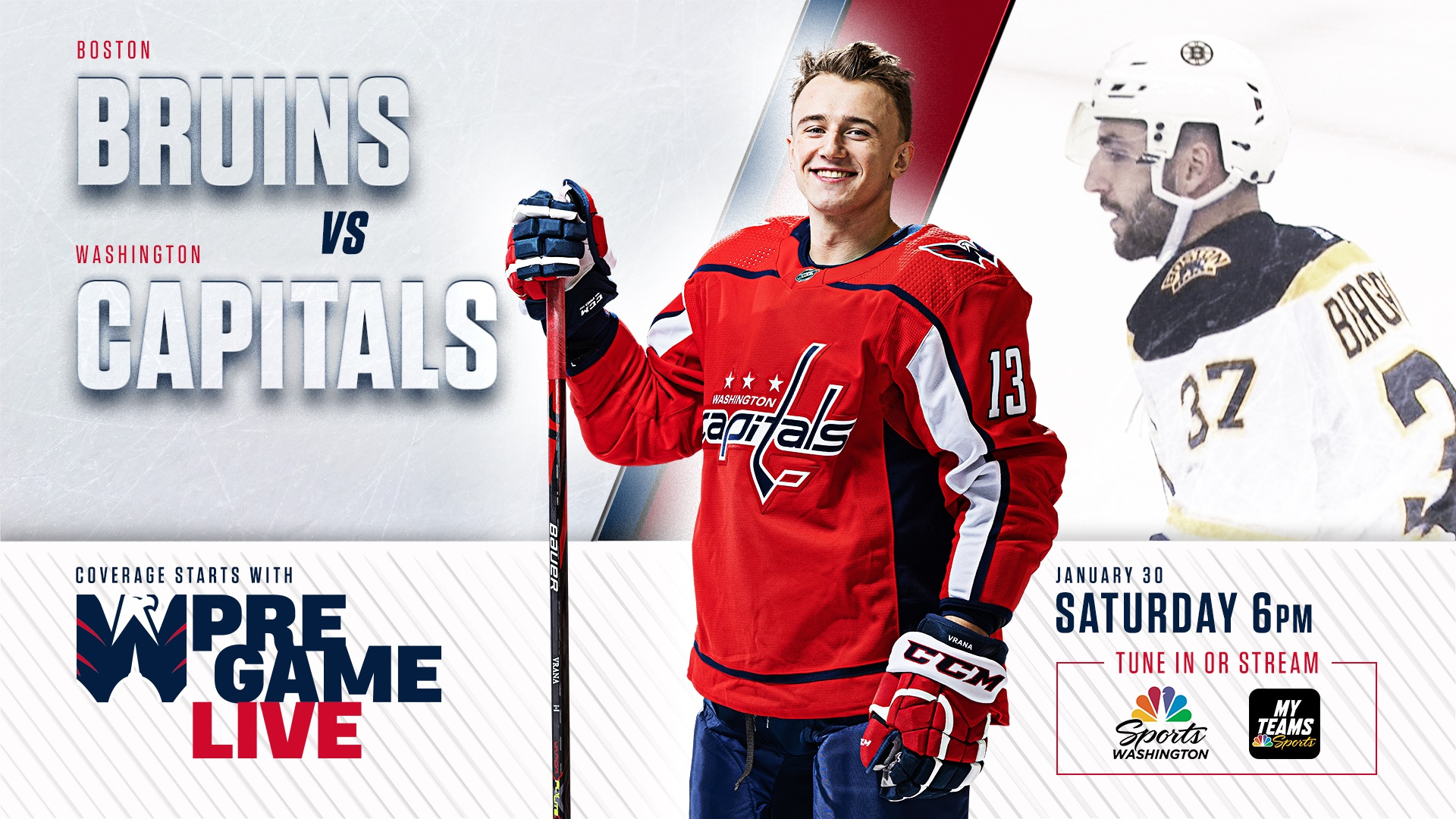 How to watch Capitals vs. Bruins Game 5