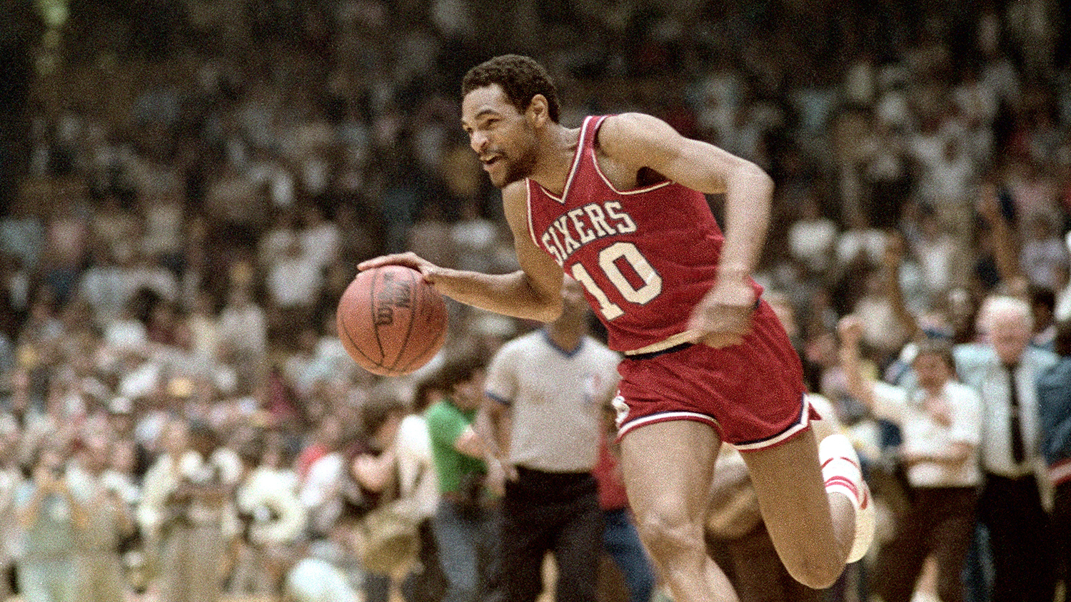 Sixers were at their apex as a franchise when Moses Malone lifted them to the top