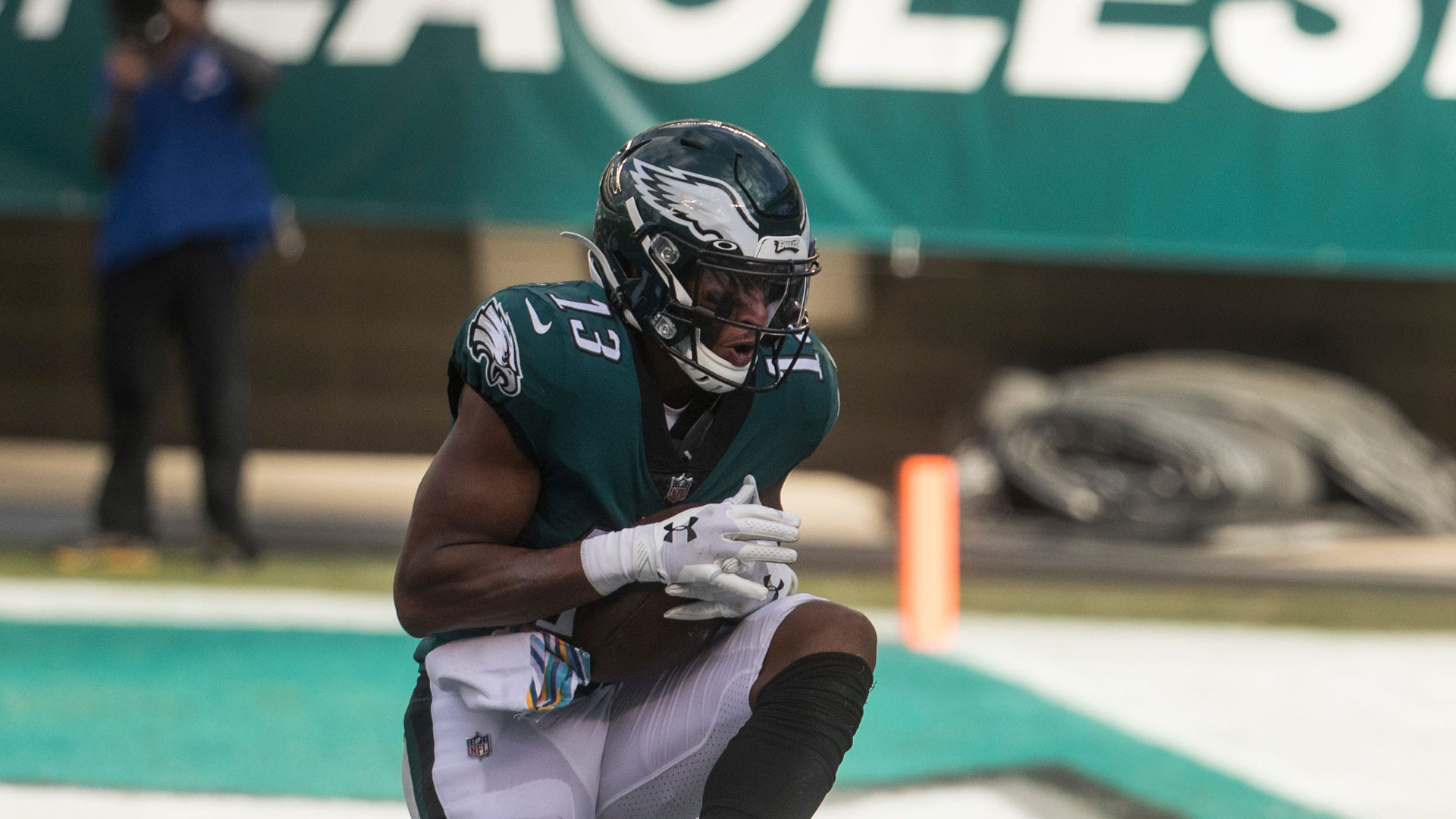 Eagles snap counts: Finding more playing time for Travis Fulgham