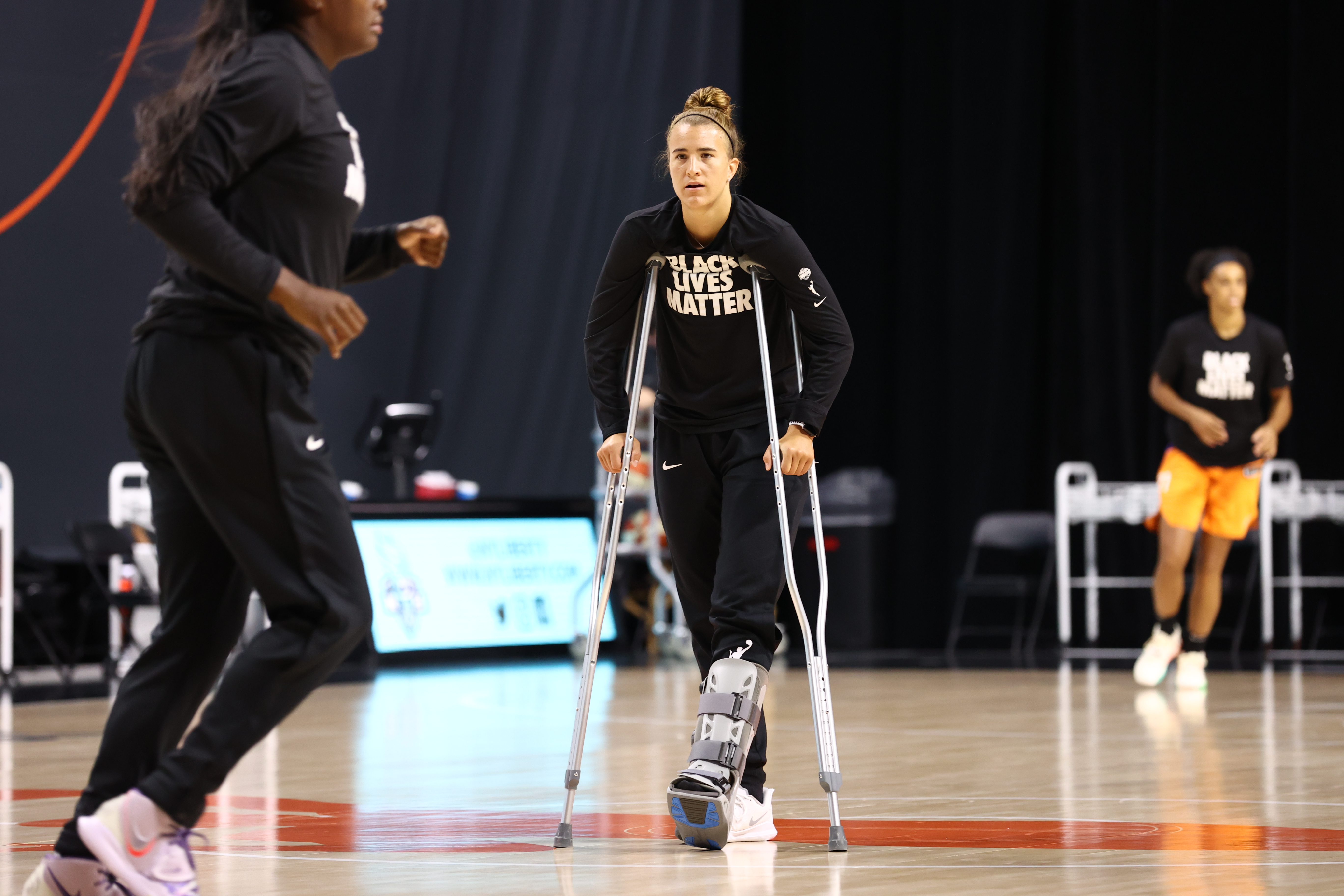 Sabrina Ionescu gives rehab update and discusses her WNBA rookie season