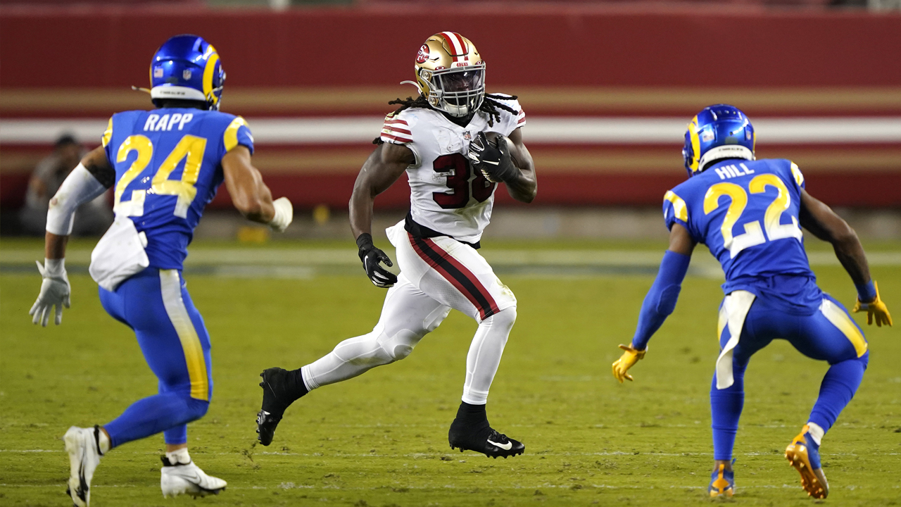 49ers snap count: Running back depth put on display in win vs. Rams