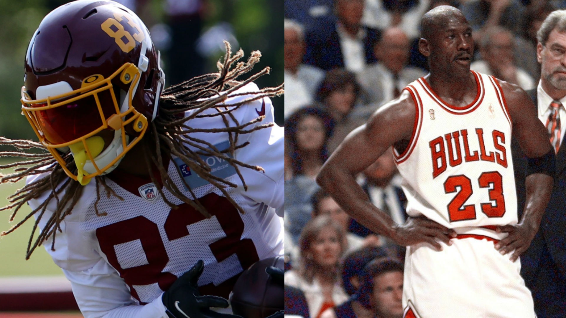 What does Washington WR Isaiah Wright have in common with Michael Jordan?