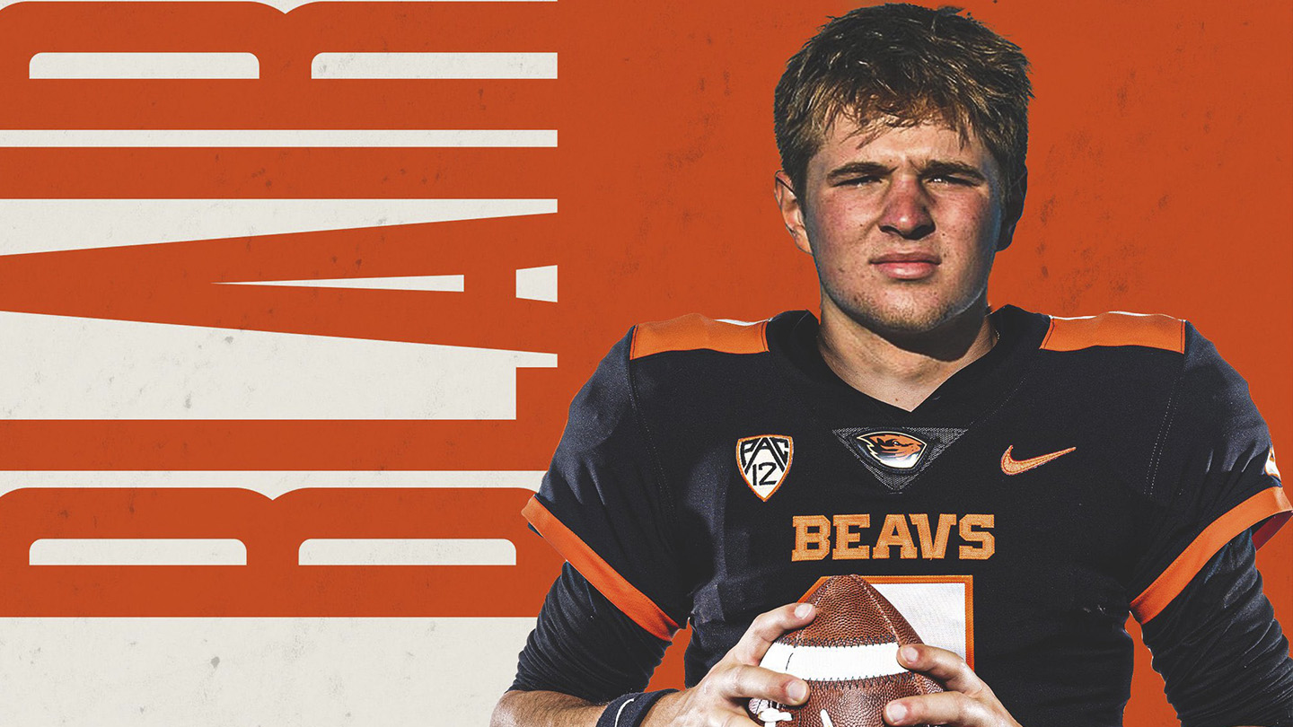 Oregon State Beavers land 3-star dual threat QB Jake Blair as a PWO