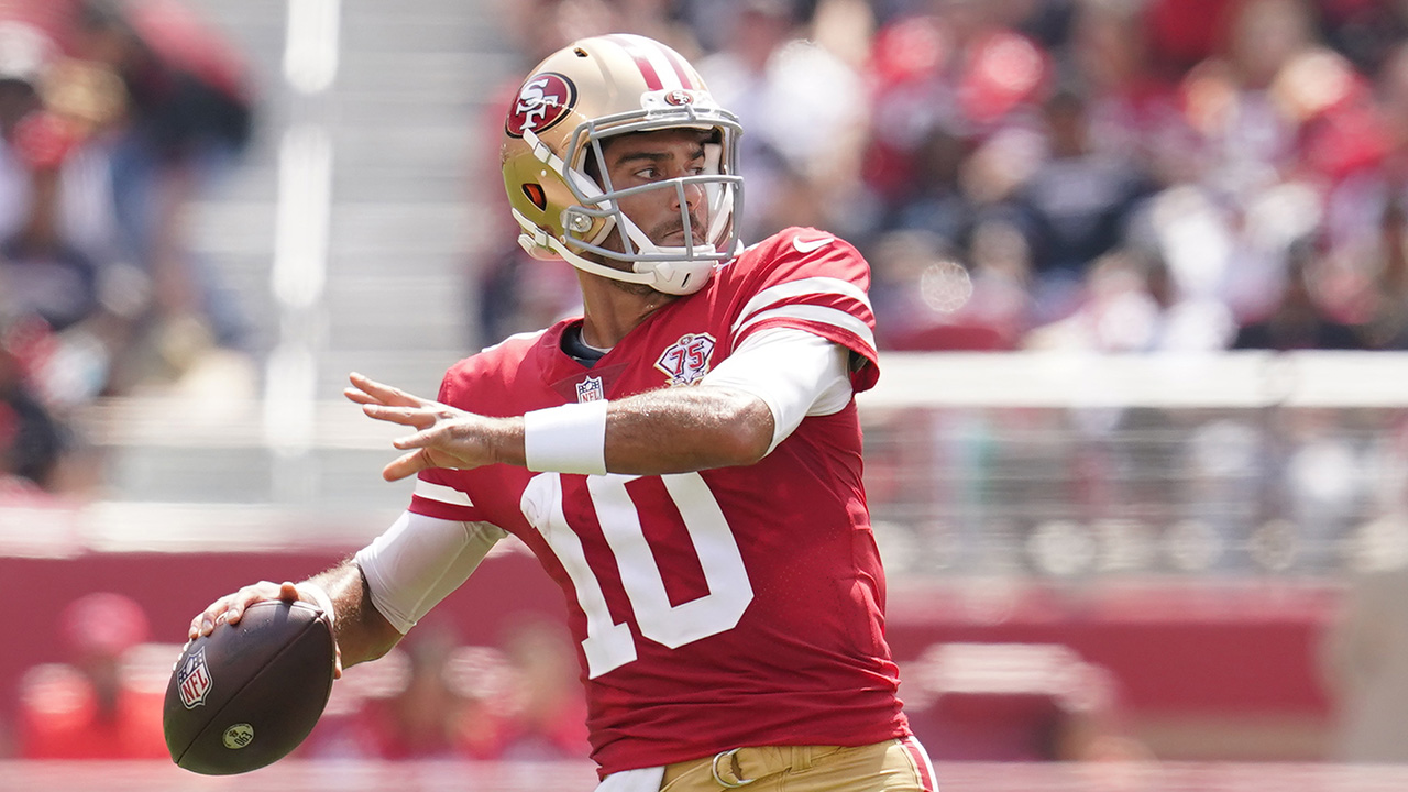 Unofficially official: Jimmy Garoppolo is 49ers' Week 1 starter   RSN