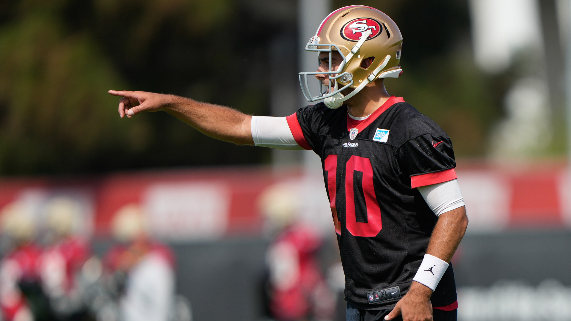 Jimmy Garoppolo's newfound fiery attitude evident with 49ers   RSN