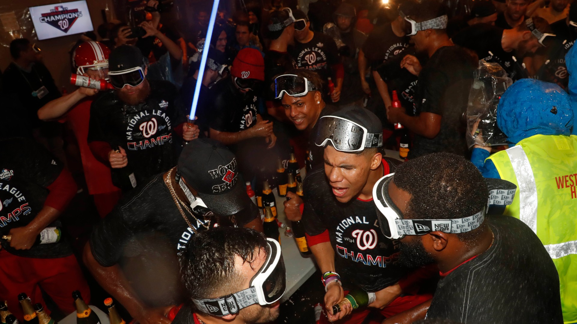 MLB may ban alcohol for celebrations, but Nationals capitalized with 5 in 2019