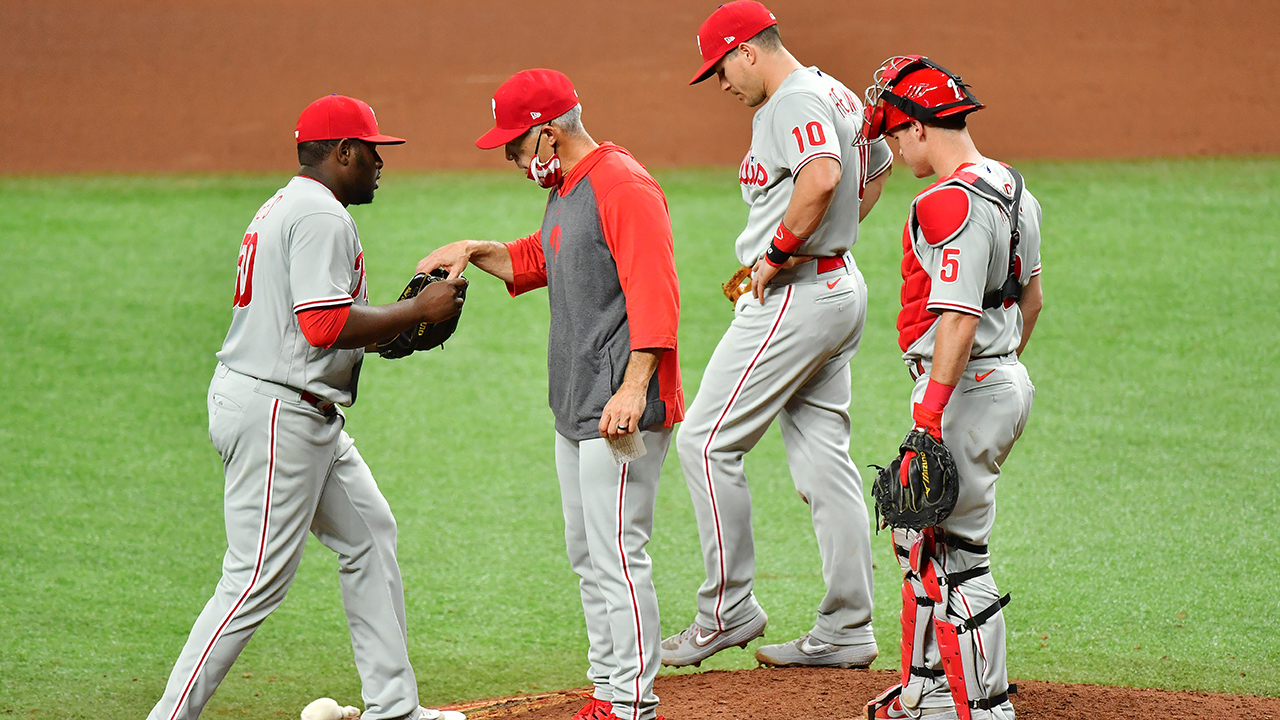 Phillies playoff hopes on life support after a familiar looking loss – NBCSports.com