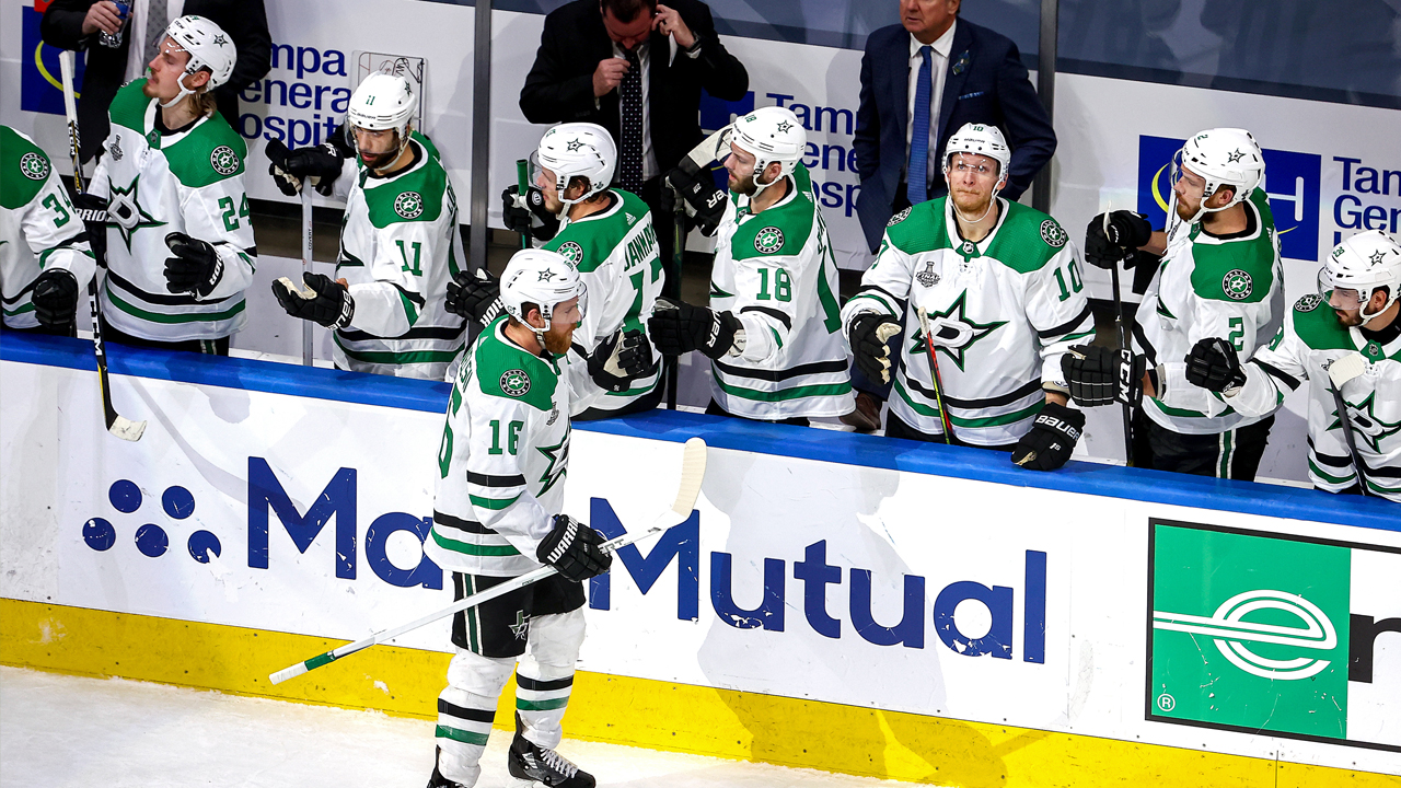 Joe Pavelski scores goal in Stars' Stanley Cup Game 2 loss to Lightning