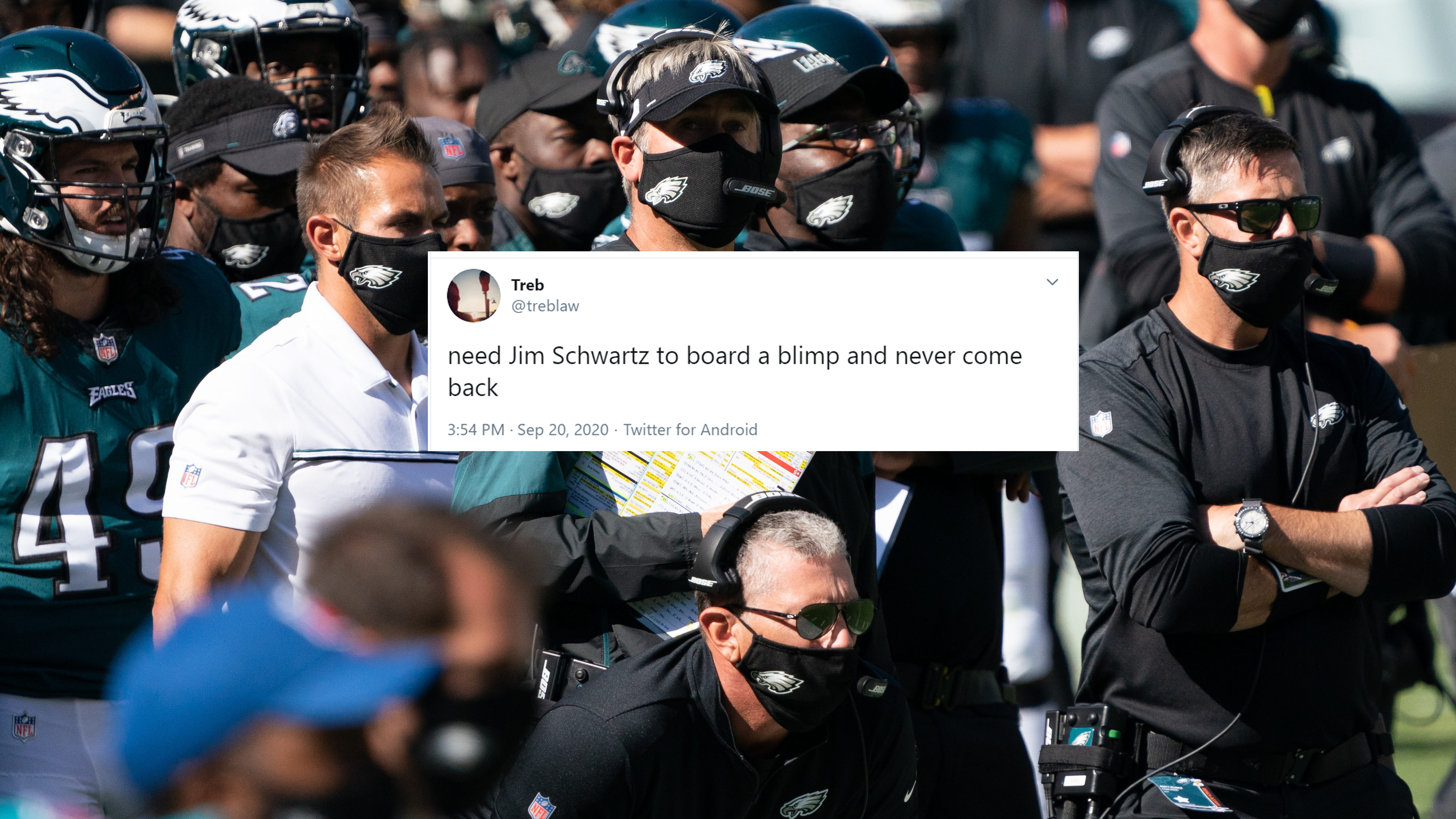 Eagles starting 0-2 has fans in full meltdown mode after ugly Rams loss