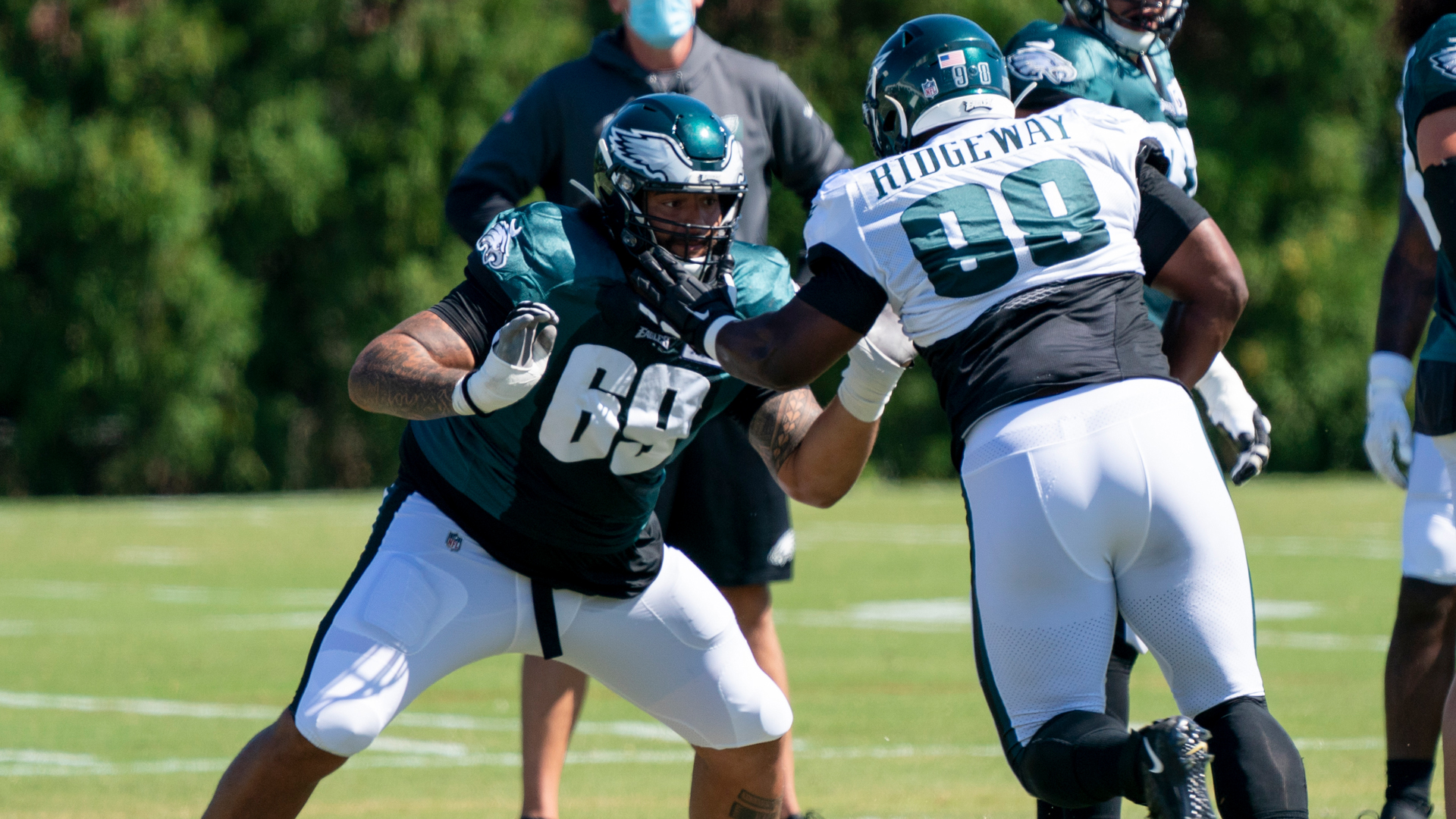 Injury bug will keep Eagles defensive lineman Hassan Ridgeway out for year