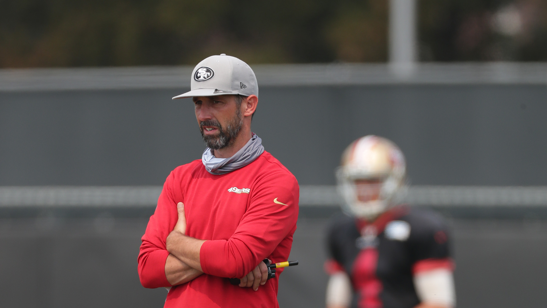 Kyle Shanahan says 49ers' extended road trip comes at a much-needed time