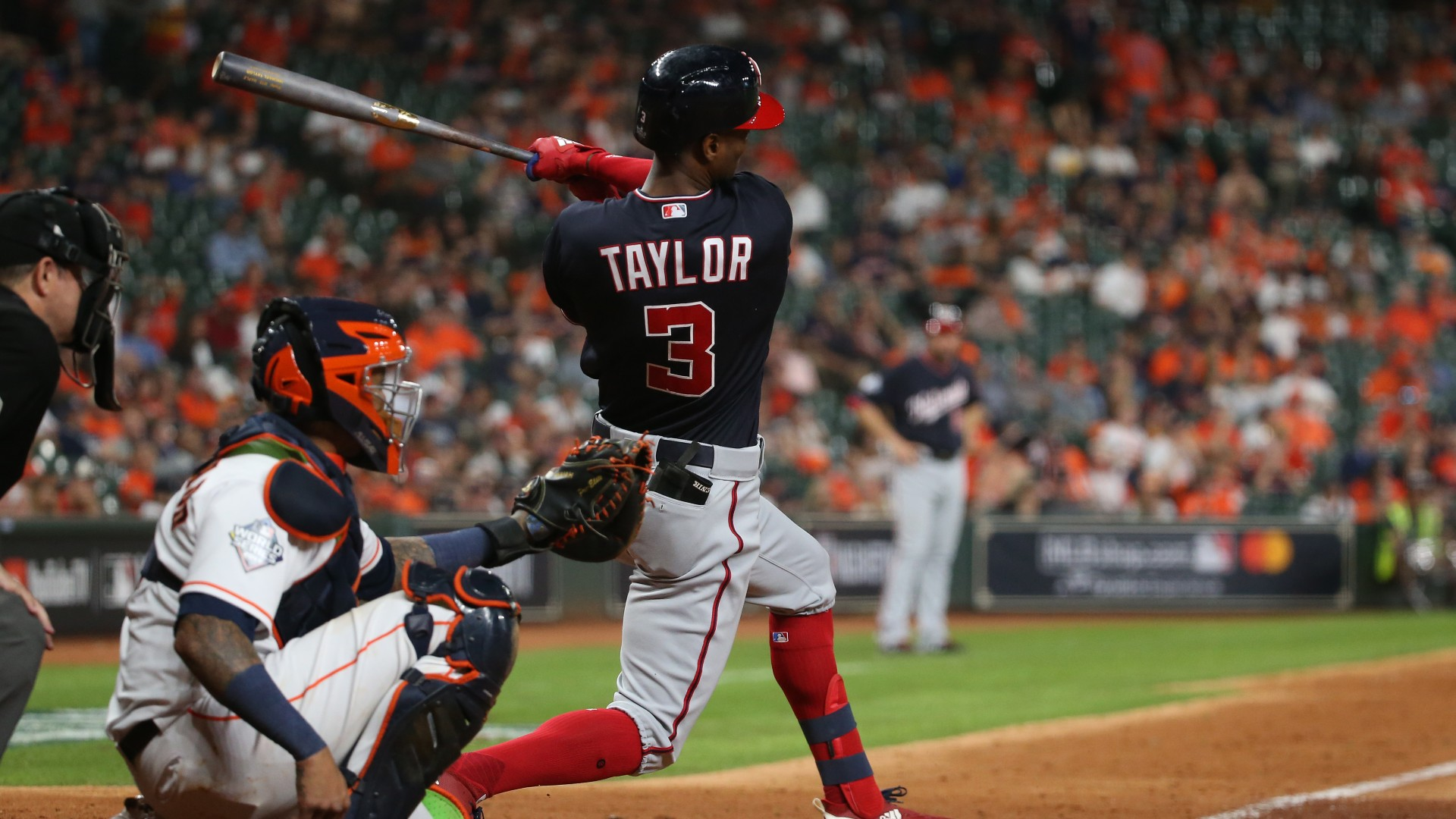 Nationals outfielder Michael A. Taylor becomes free agent