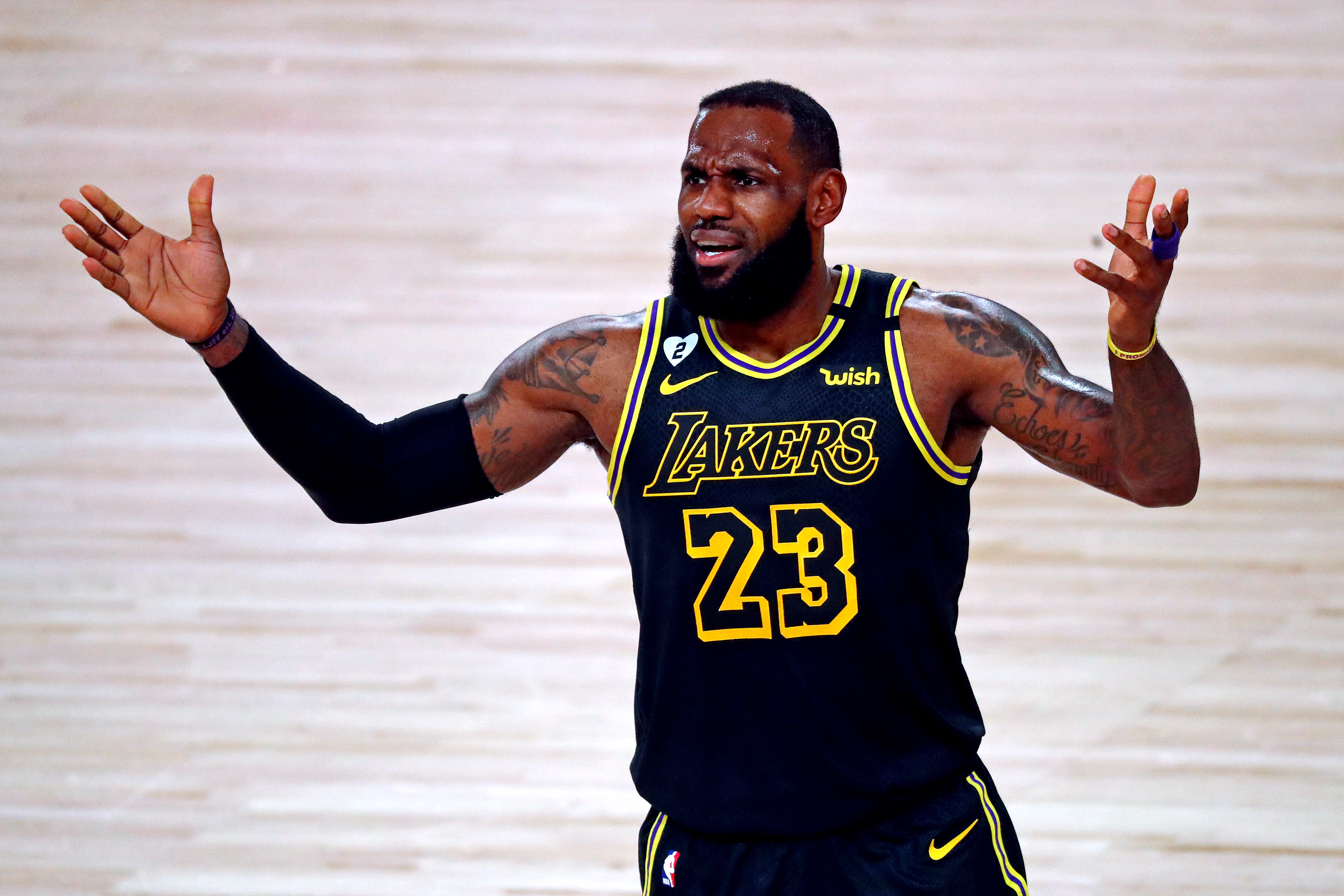 LeBron James complaining about MVP votes is not very king ...