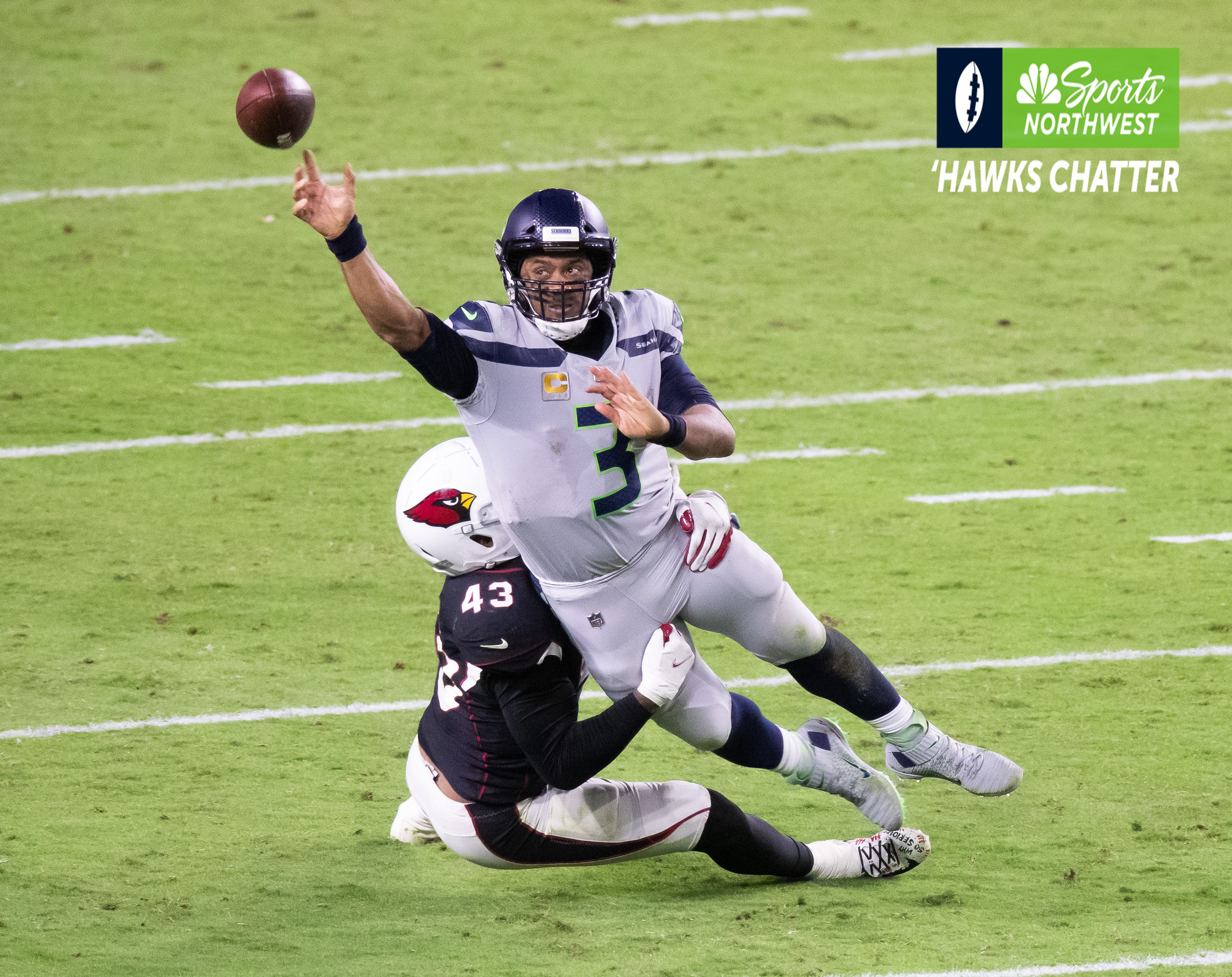 Russell Wilson takes responsibility for rare turnovers in Seahawks first loss of the season