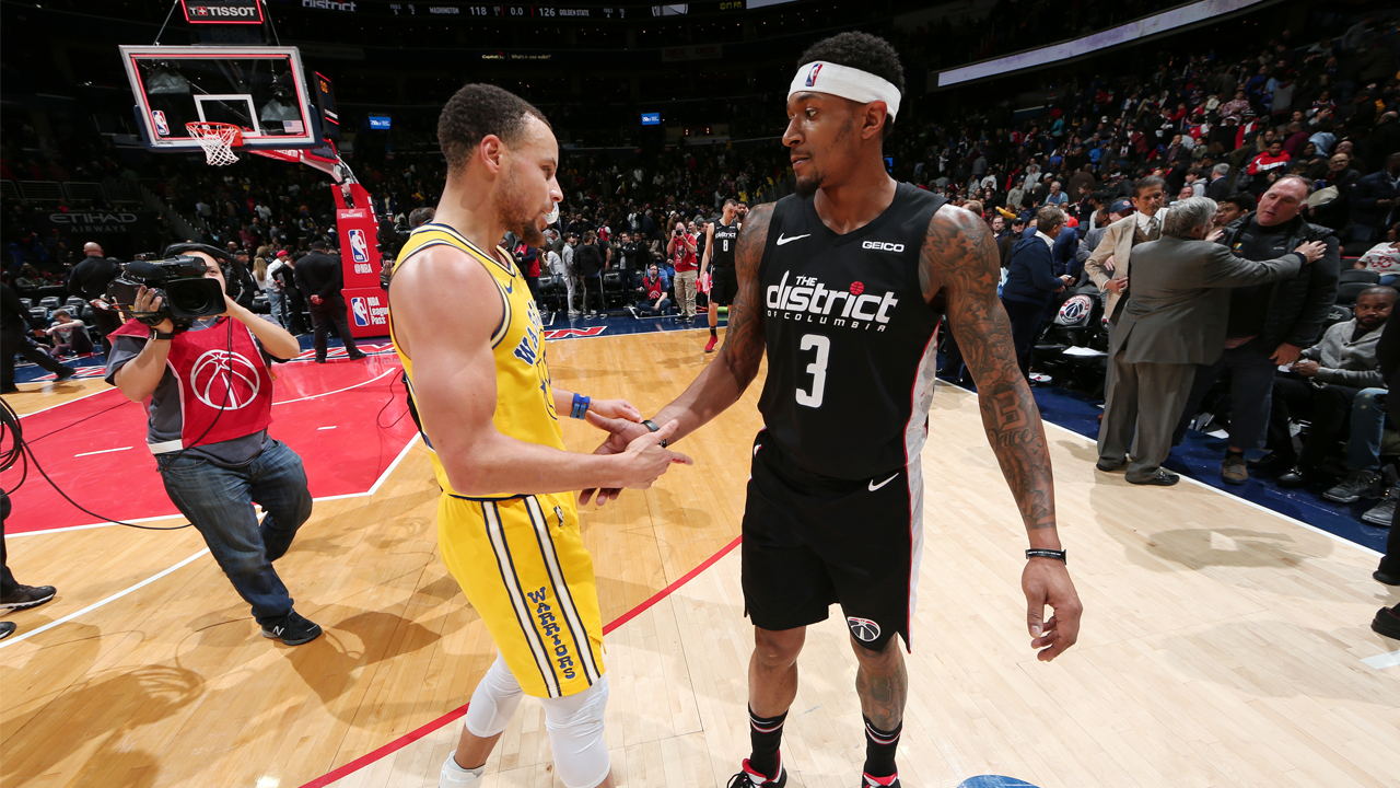 Potential Warriors target Beal reacts to constant trade rumors