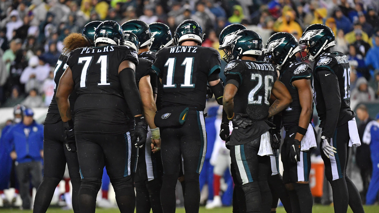 The Eagles going with their all-black uniforms is a panic move