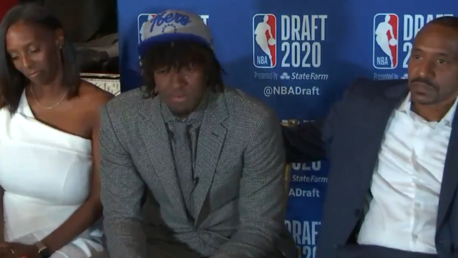 Tyrese Maxey S Reaction To Being Drafted By Sixers Is Everything Rsn