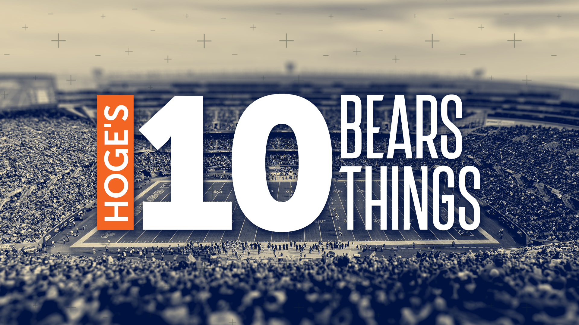 Hoge's 10 Bears Things: Defense starting to look like NFL's best again -
