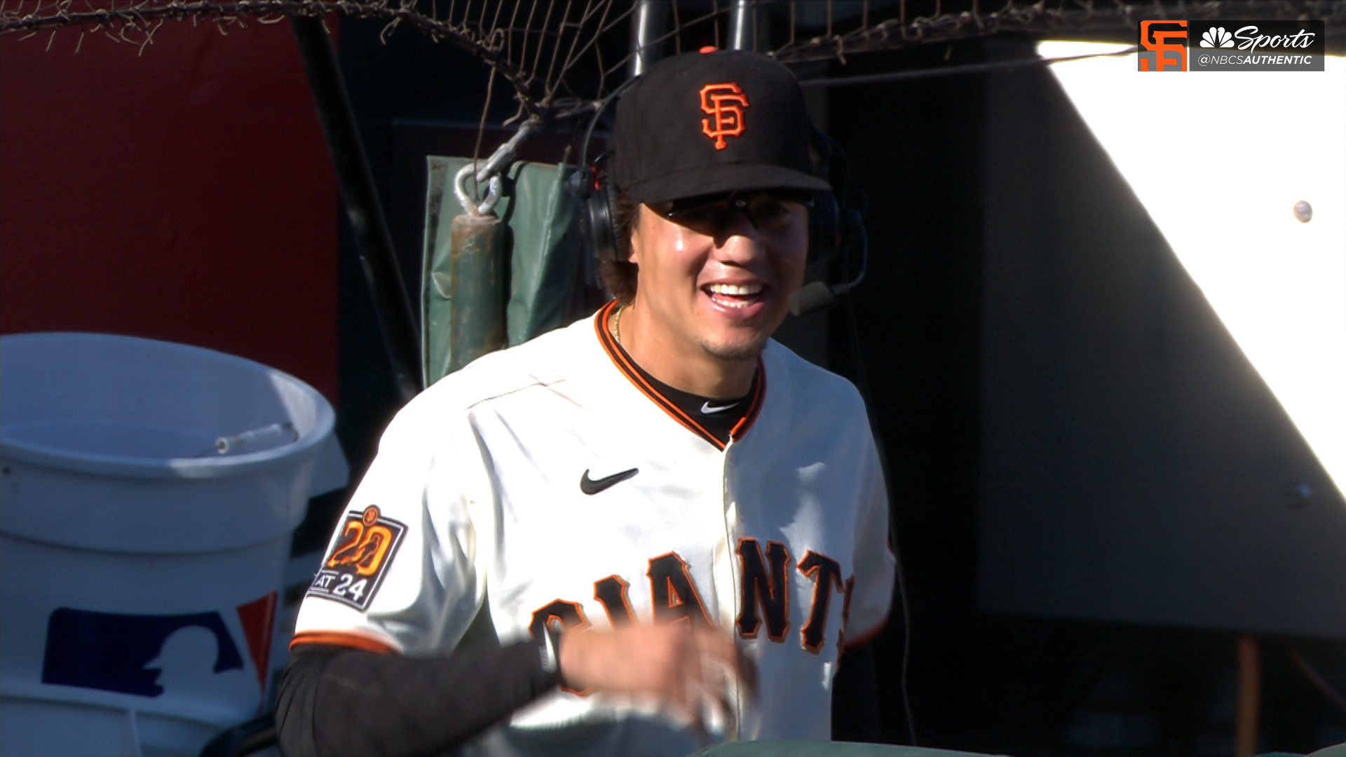 Flores discusses Giants' ability to come back in games