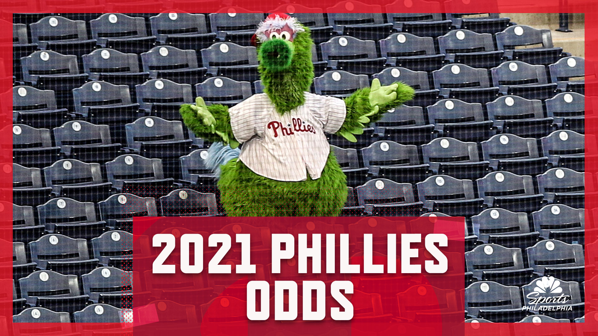 Low odds for the Philadelphia Phillies in the 2021 season