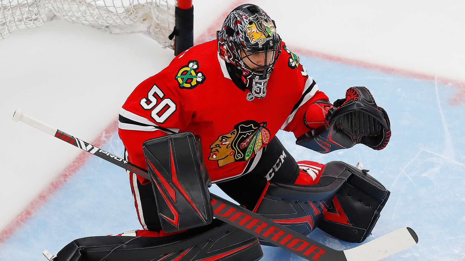 Stan Bowman explains why the Blackhawks did not resign Corey Crawford