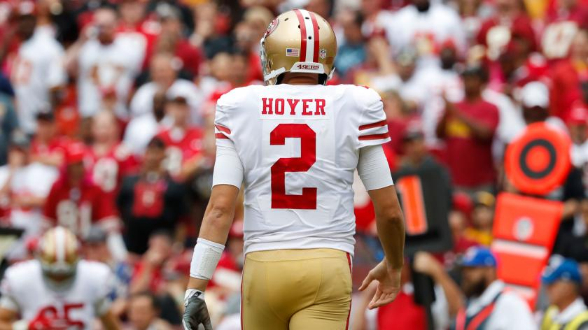 Jeff Garcia was frustrated by Brian Hoyer: 'I kept waiting...'   RSN