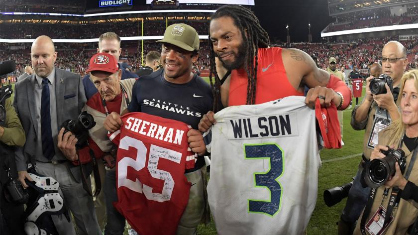 How NFL player jersey exchanges signal respect, friendship ...