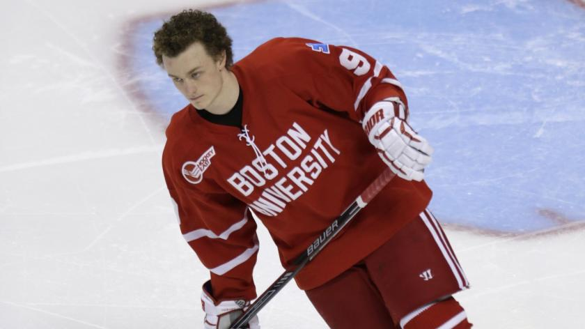 Bu S Eichel Remains Undecided About Turning Pro Rsn