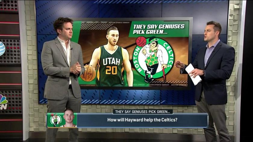 Report Celtics Jazz Entertaining Possible Sign And Trade Involving Gordon Hayward Jae Crowder Rsn