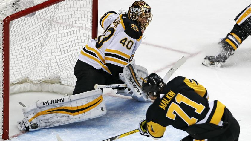 Bruins fall to Penguins in overtime, 6-5 | RSN