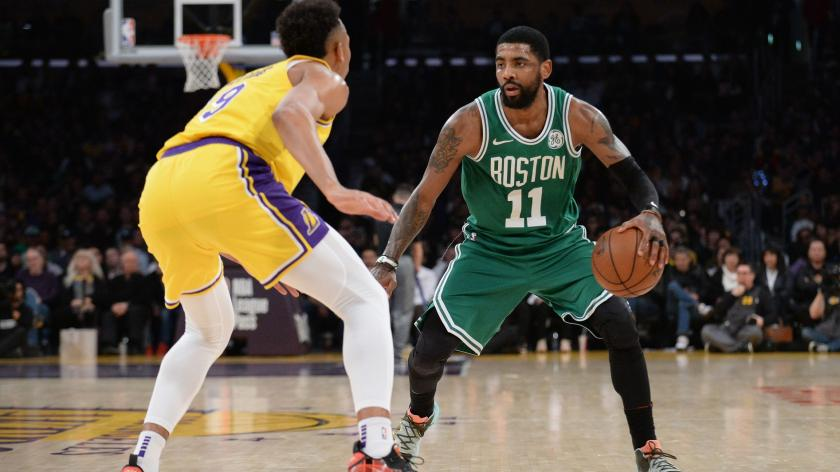 Celtics' Kyrie Irving makes young fan's