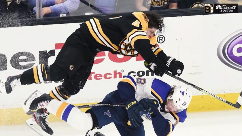 Krug Hit Just A Part Of A Powerful Opening Punch Thrown By Bruins In Game 1 Rsn